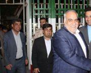رفتن استاندار کرمانشاه به عراق از مهران بازگشت از مرز خسروی