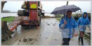 با تمام توان در حال تلاش برای مقابله با سیل و کاهش خسارتهای آن در شهرستان هستیم