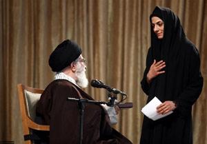 اهدای مدال مریم هاشمی به رهبر انقلاب بهانه جدید برای تخریب/مدال کدام دوره از مسابقات هدیه داده شد