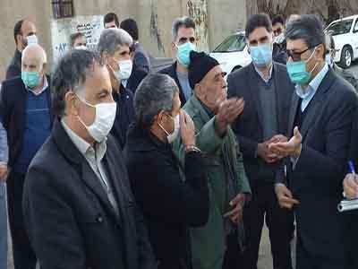 بازدید دکتر علی رضایی از روستاهای کم برخوردار کنگاور