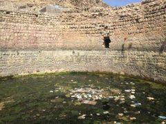 خداحافظی آب با بنای ساسانی/ سراب کیو