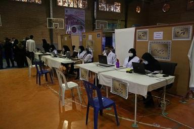 دومین مرکز واکسیناسیون دانشگاه آزاد اسلامی واحد کرمانشاه راه اندازی شد