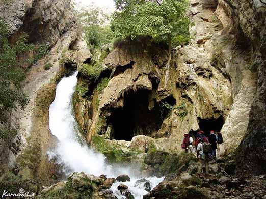معرفی آبشار آتشگاه | طولانی ترین آبشار ایران