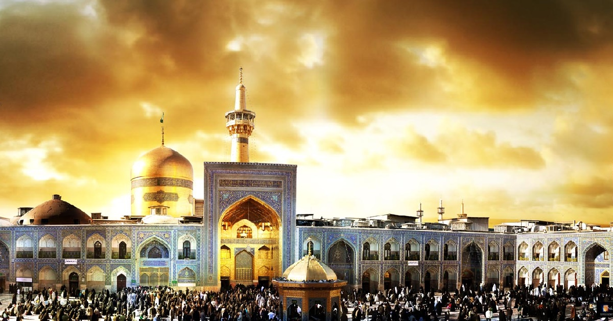 غبارروبی مرقد امام رضا (ع) – مشهد